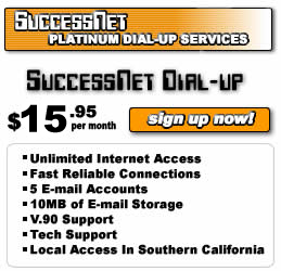 SuccessNet Dial-up